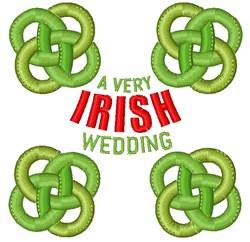 A Very Irish Wedding embroidery design