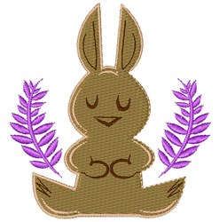 Chocolate Bunny embroidery design