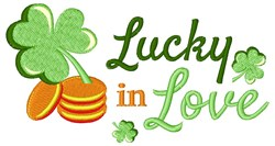 Lucky In Love embroidery design