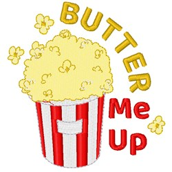Butter Me Up! embroidery design