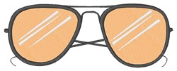 Sunglasses embroidery design