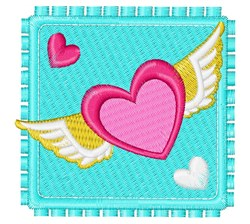 Love Stamp embroidery design