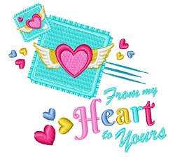 From My Heart embroidery design