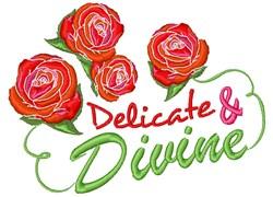 Delicate & Divine embroidery design