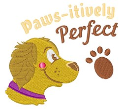 Paws-itively Perfect embroidery design