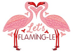 Lets Flaming-le embroidery design