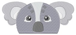 Koala Pocket Topper embroidery design