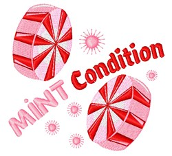 Mint Condition embroidery design