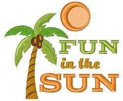 Fun In The Sun embroidery design
