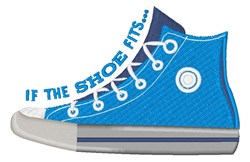If The Shoe Fits embroidery design