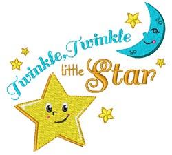 Twinkle Twinkle Twinkle Little Star embroidery design