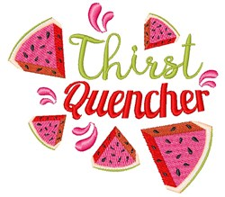 Watermelon Thirst Quencher embroidery design
