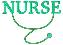 Nurse Base embroidery design