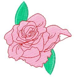 Rose Base embroidery design
