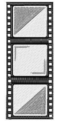 Film Strip embroidery design