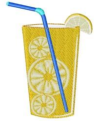 Lemonade embroidery design