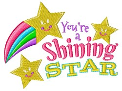 Youre A Shining Star embroidery design