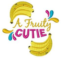 A Fruity Cutie embroidery design