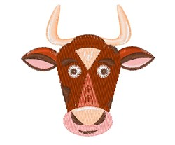 Cow Base embroidery design
