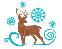 Deer Base embroidery design