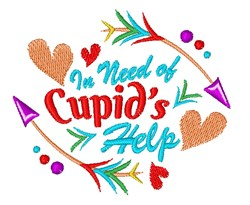 Cupids Help embroidery design