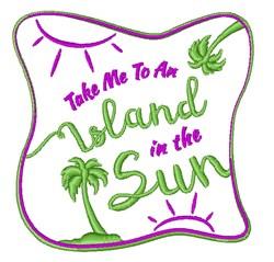 Island In The Sun embroidery design