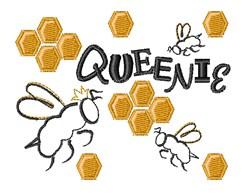 Queenie embroidery design
