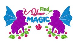 Find Your Magic embroidery design