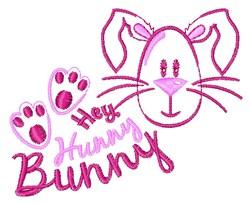 Hunny Bunny embroidery design