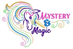Mystery & Magic embroidery design