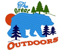 Great Outdoors embroidery design