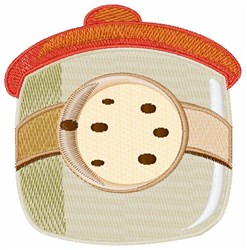 Cookie Jar embroidery design
