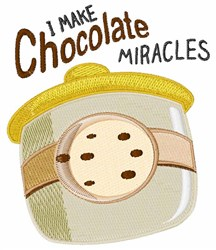 Chocolate Miracles embroidery design