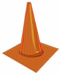 Traffic Cone embroidery design