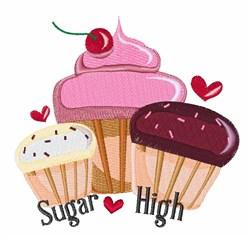 Sugar High embroidery design