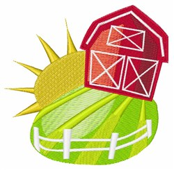 Sunny Barn embroidery design