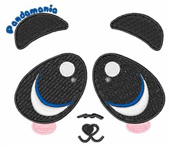 Pandamonia embroidery design