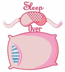 Sleep Over embroidery design