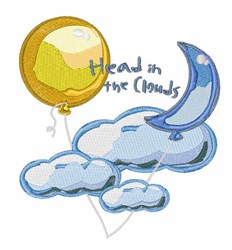 Head In Clouds embroidery design
