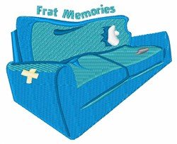 Frat Memories embroidery design
