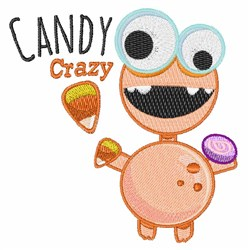 Candy Crazy embroidery design