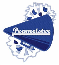 Pepmeister embroidery design