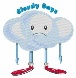 Cloudy Days embroidery design