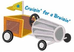 Cruisin For A Bruisin embroidery design