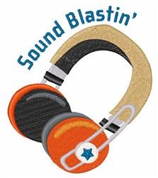 Sound Blastin embroidery design