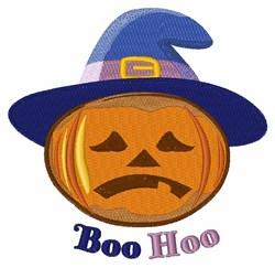 Boo Hoo embroidery design