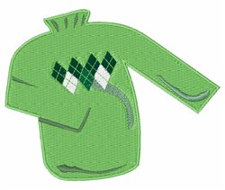 Green Sweater embroidery design