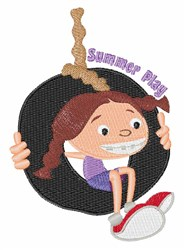 Summer Play embroidery design