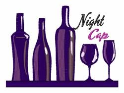 Night Cap embroidery design