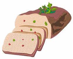 Meatloaf embroidery design